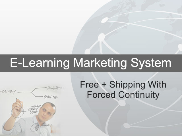 Free + Shipping With Forced Continuity