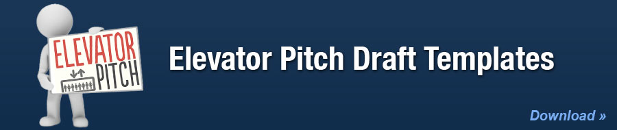 Elevator Pitch Draft Templates