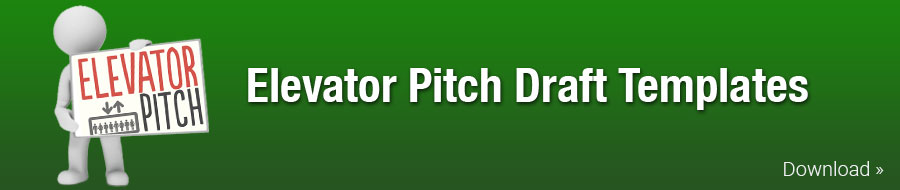 Elevator Pitch Draft Templates
